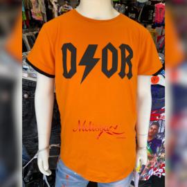 'Door' Jongens T-shirt oranje.