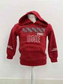 'One' jongens Sweater rood