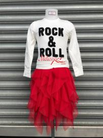'Eva' rok rood.