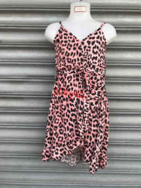 'Monica' Baby Leopard print Jurk