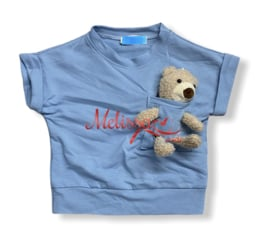 'Teddey ' Baby Trui blauw.