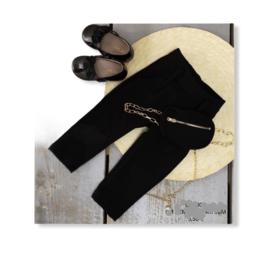 Pantalon broek zwart.