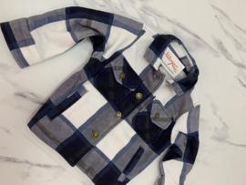 'Jenny ' blouse/Jack blauw.