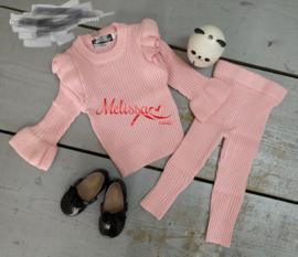 'Manon ' meisjes Huispak roze.