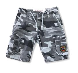 Camouflage korte broek .