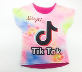 Regenboog tik tok T-shirt