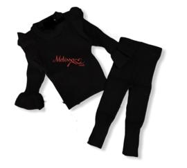 'Manon ' Baby comfi pak zwart.