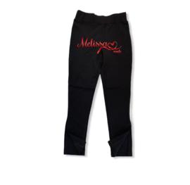 'Ivonne' trachging broek zwart