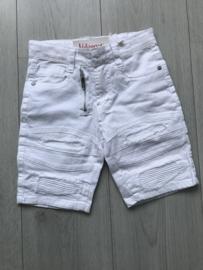 'Martijn' korte broek wit.