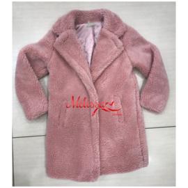 'Teddey' meisjes jas roze.
