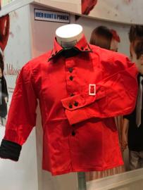 'Sammy' Overhemd Rood.