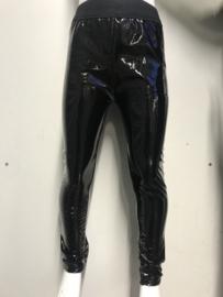Lederlook glanzend legging.