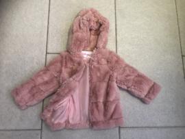 'Rossana' baby bont jas roze.