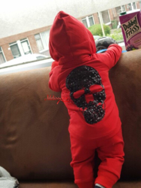 'phililpe' Baby setje Rood.