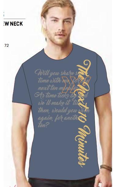 "T-shirt ""The Next Ten Minutes"""