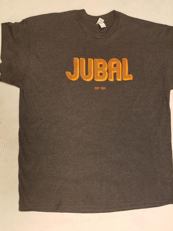 """T-shirt zwart  """"  Jubal """""""