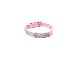 Roze katten halsbandje bling - ELMO