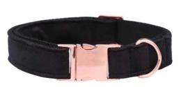 Honden Halsband Fluweel - BLACKIE