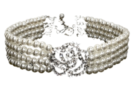 Parel Halsband Wit - LILO