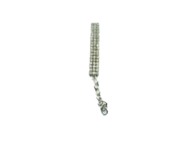 Bling Halsband Zilver - MISSY