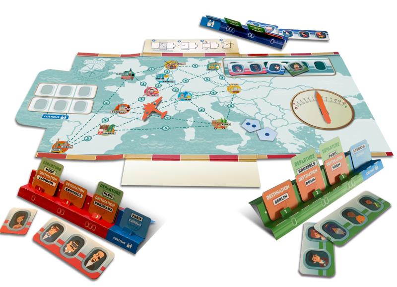 Travel Edition Passaportas English/French per unit