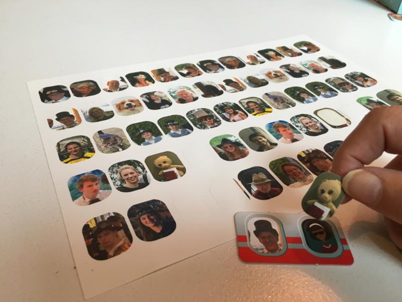 Extra afdruk stickerblad - Enkel samen met SERVICE