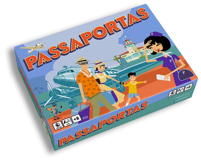 Passaportas game x 10