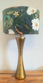 Lampvoet antique gold L
