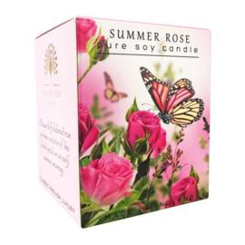 geurkaars Summer Rose