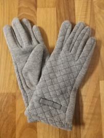 Handschoen grijs