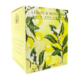 geurkaars Lemon & Mandarin