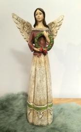 Engel met krans
