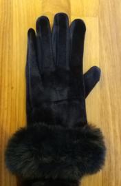 Handschoen donkerblauw