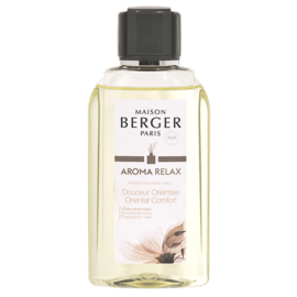 Navulling voor parfumverspreider 200ml Aroma Relax Douceur Orientale