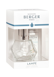 Lampe Berger Geometry Transparante giftset incl. 180ml Zeste de Verveine