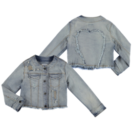 Mayoral Denim Jacket Hart Luna