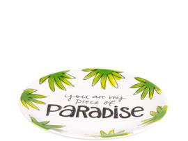 Blond Amsterdam bord ø18cm Paradise