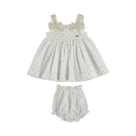 Mayoral Plumetti dress Baby Girl