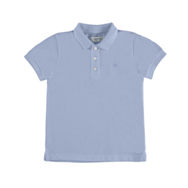 Mayoral Basic shirtsleeve polo Sky
