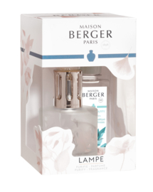 Lampe Berger Coffret Lia Givre Fleurie giftset incl. 180ml Aroma Happy