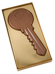 Boulanger Chocolade sleutel 90gr