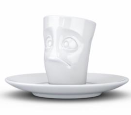 Tassen Espresso mok 80ml Baffled