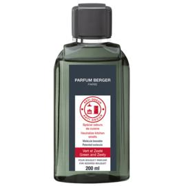 Navulling voor parfumverspreider 200ml Tegen Nare Keukenluchtjes N˚2
