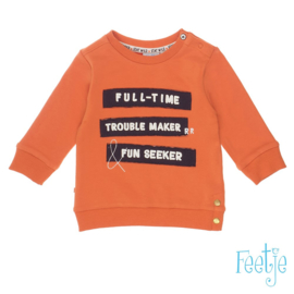 Feetje Sweater Trui - Full-Time Trouble Maker