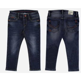 Mayoral Super slim fit denim broek Dockside