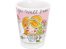 Blond Amsterdam Beker XL Get Well Soon 0,5L