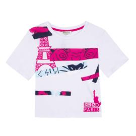 Kenzo T-shirt Dune Wit