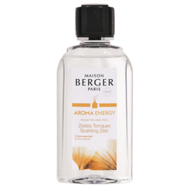 Navulling voor parfumverspreider 200ml Aroma Energy Zestes Toniques