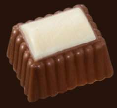 Praline Exquise Rechthoek Boulanger Melk met Wit