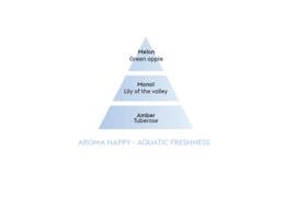 Aroma Happy / Fraîcheur Aquatique 1L